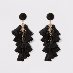 SUGARFIX by BaubleBar Multi-Tassel Drop Earring